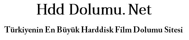 Harddisk Dolumu